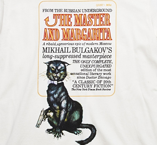 [Out of Print] Mikhail Bulgakov / The Master and Margarita Tee (Natural)