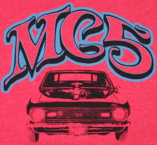 MC5 / Camaro Tee (Red)