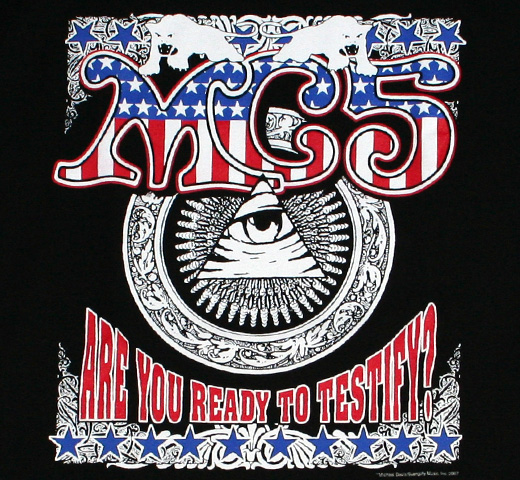 MC5 / Are You Ready To Testify? Tee