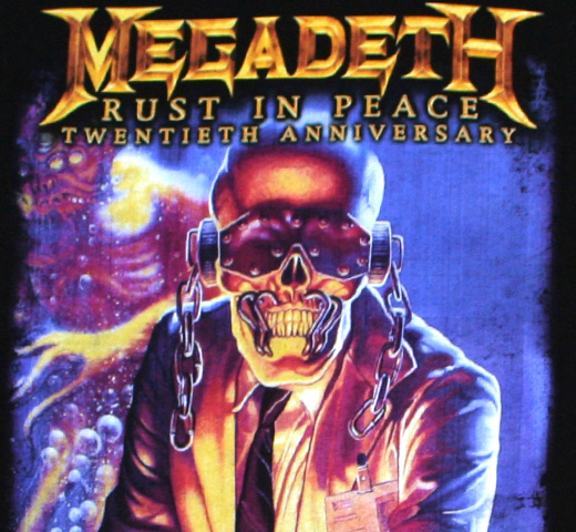Megadeth / Rust In Peace Tee (Black)