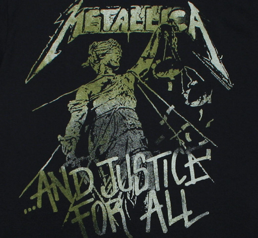 Metallica / ...And Justice For All Tee 3 (Black)