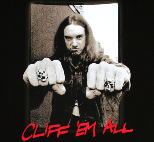 Cliff Burton / Cliff Em All Tee