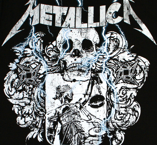 Metallica / Justice Shield Tee
