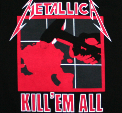 Metallica / Kill 'Em All Tee 2 (Black)