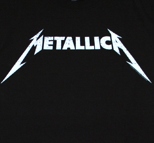 Metallica / Logo Tee (Black)