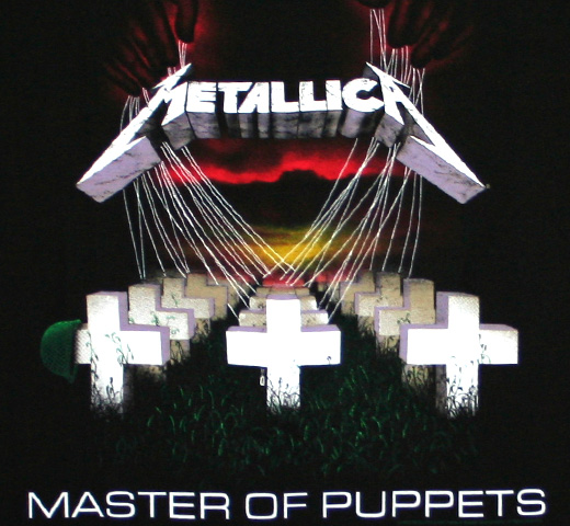 Metallica / Master of Puppets Tee (Black)