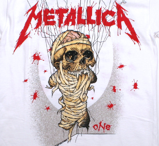 Metallica / One Tee 2 (White)