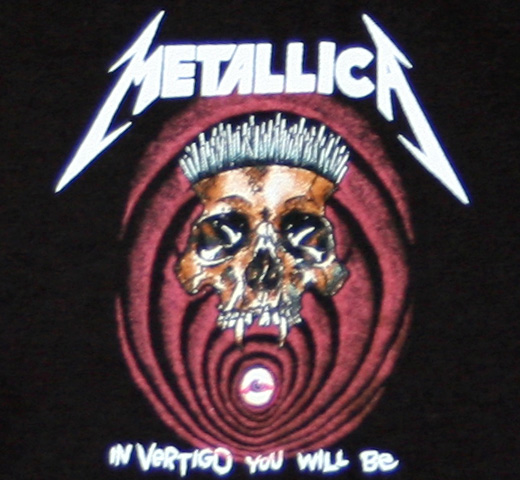 Metallica / In Vertigo You Will Be Tee (Black)