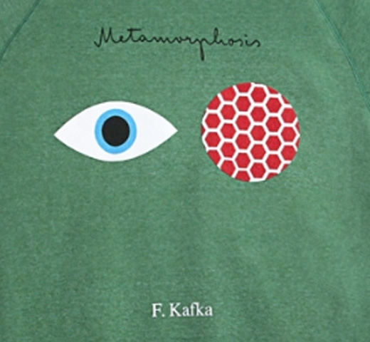 【Out of Print】 Franz Kafka / The Metamorphosis Fleece (Kelly Green)