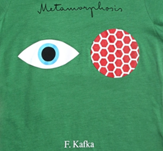 [Out of Print] Franz Kafka / The Metamorphosis Tee (Kelly Green) (Womens)