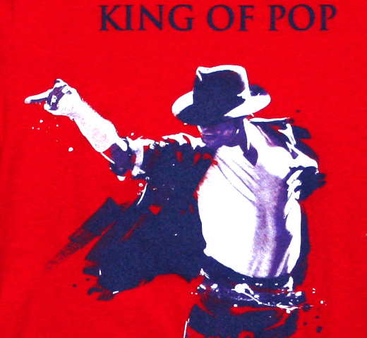 Michael Jackson / London The O2 2009 Tee (Red) (Womens)