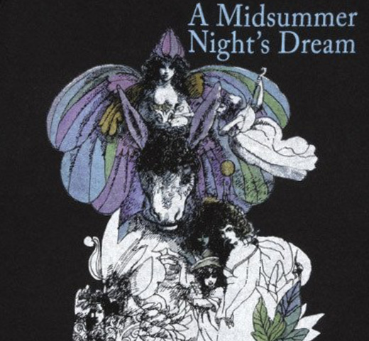 【Out of Print】 William Shakespeare / A Midsummer Night's Dream Sweatshirt (Black)