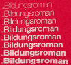 【Out of Print】 Literary Terms / Bildungsroman Tee (Red) (Womens)
