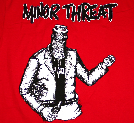 minor threat bottled violence tee 3675     minor threat minorMinor Threat Logo