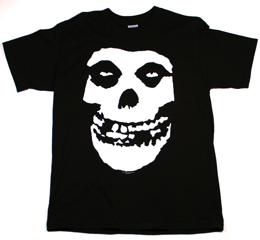 Misfits / Crimson Ghost Tee (Black)