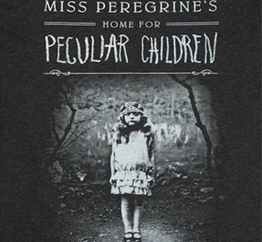 【Out of Print】 Ransom Riggs / Miss Peregrine's Home for Peculiar Children Scoop Neck Tee (Black) (Womens)