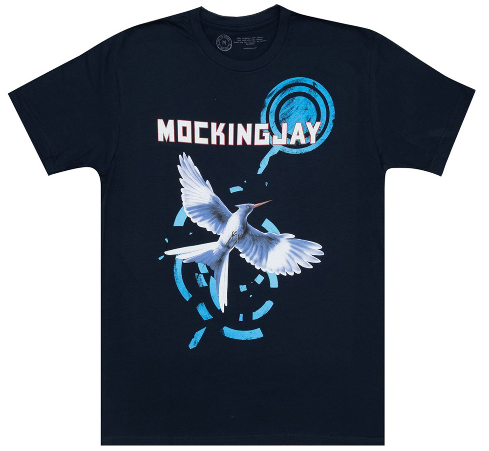 [Out of Print] Suzanne Collins / Mockingjay Tee (Midnight Navy)