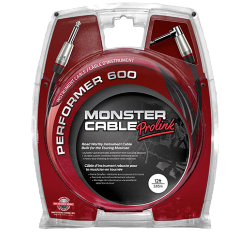 【MONSTER CABLE】 P600-I-12A (SL / 3.6m)