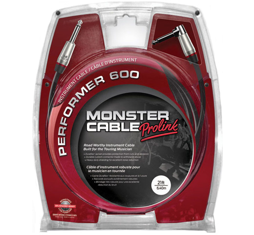 【MONSTER CABLE】 P600-I-21A (SL / 6.4m)
