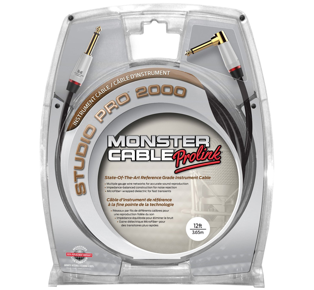 【MONSTER CABLE】 SP2000-I-12A (SL / 3.6m)