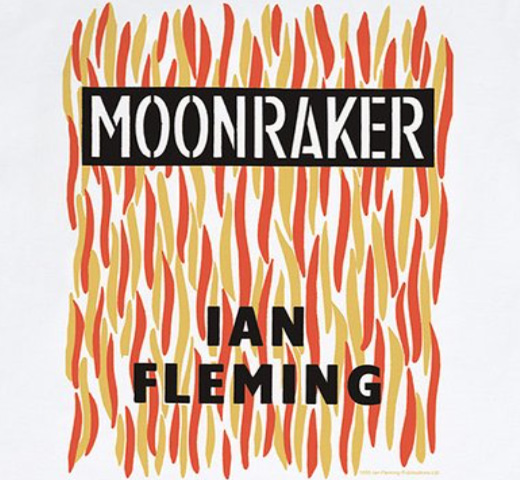 【Out of Print】 Ian Fleming / Moonraker Tee (White)