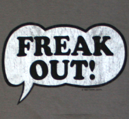 The Mothers of Invention / Freak Out! Tee 2 (Grey)
