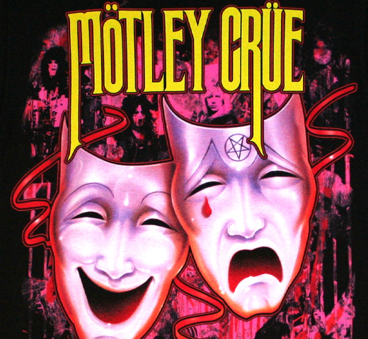Mötley Crüe / Theatre Of Pain Tee (Black)