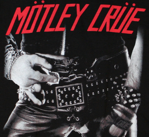 Mötley Crüe / Too Fast For Love Tee