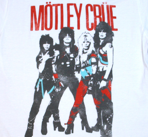 Mötley Crüe / World Tour 1983 Vintage Tee (White)
