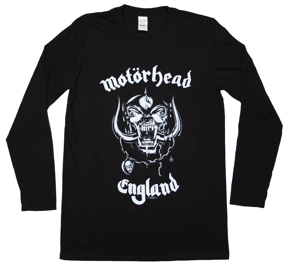 Motörhead / War Pig Long Sleeved Tee 2 (Black)
