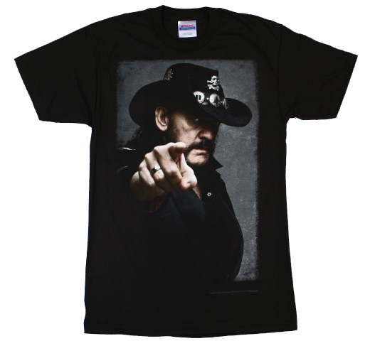 Lemmy Kilmister / Pointing Tee