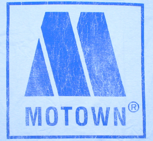 Motown Records / Logo Tee 3 (Light Blue)