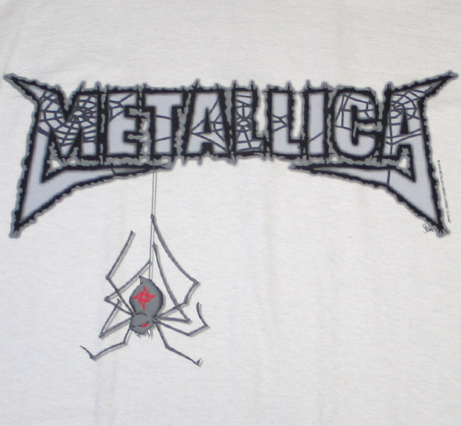 Metallica / Black Widow Tee