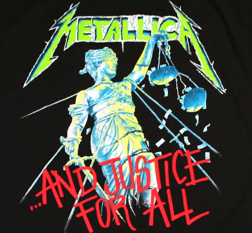 Metallica / ...And Justice For All Tee