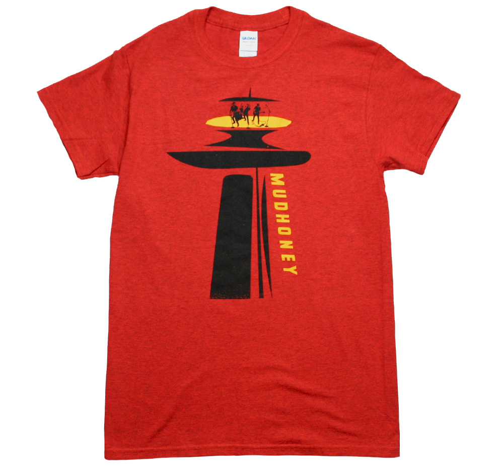 Mudhoney / Live on Top of the Space Needle Tee (Heather Orange)