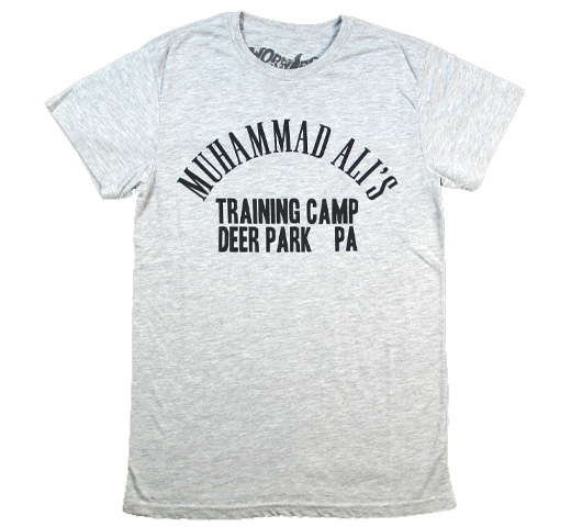【Worn Free】 Muhammad Ali / Deer Park Tee (Heather Grey)