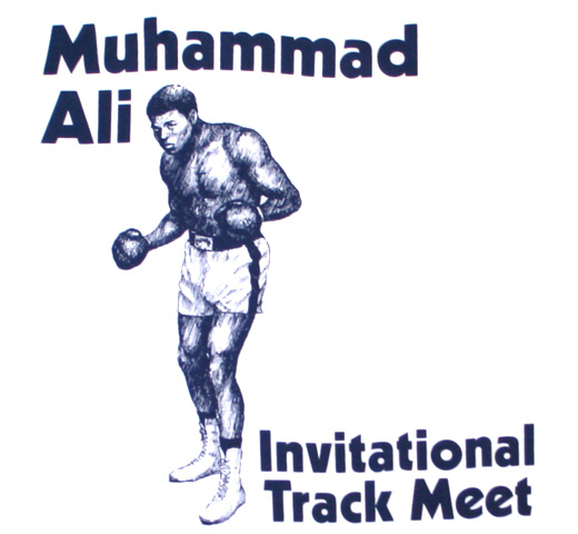 【Worn Free】 Muhammad Ali / Invitational Track Meet Tee