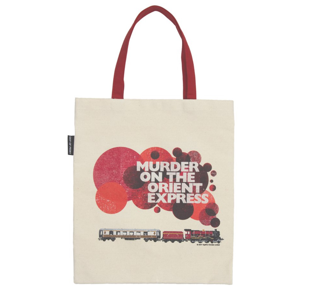 [Out of Print] Agatha Christie / Murder on the Orient Express Tote Bag