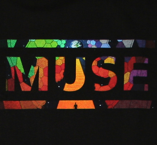 Muse / Hexagon Logo The Resistance Tour 2009 Tee