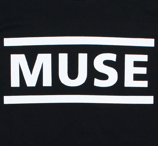 Muse / Logo Tee 1 (Black)
