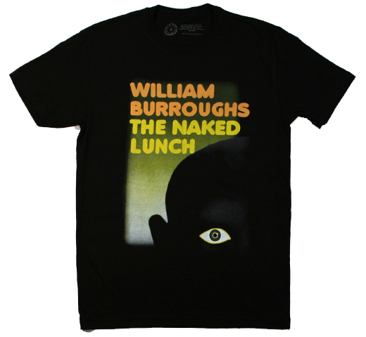【Out of Print】 William S. Burroughs / The Naked Lunch Tee (Black)