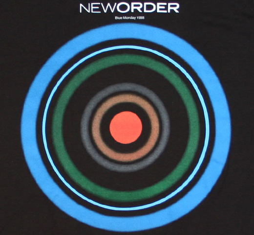 New Order / Blue Monday 1988 Tee (Black)