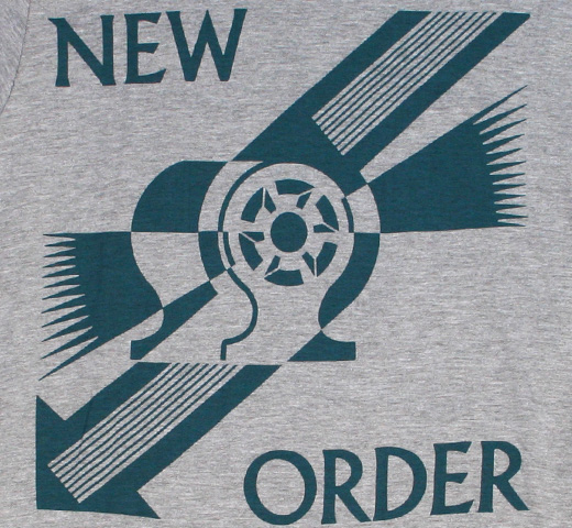 New Order / Everything's Gone Green Tee (Grey Heather)