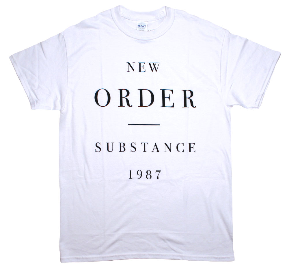 New Order / Substance 1987 Tee (White)
