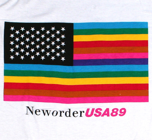 New Order / USA 89 Tour Tee (White)