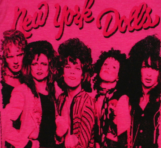 New York Dolls / Dukes Tee (Heather Pink) (Womens)