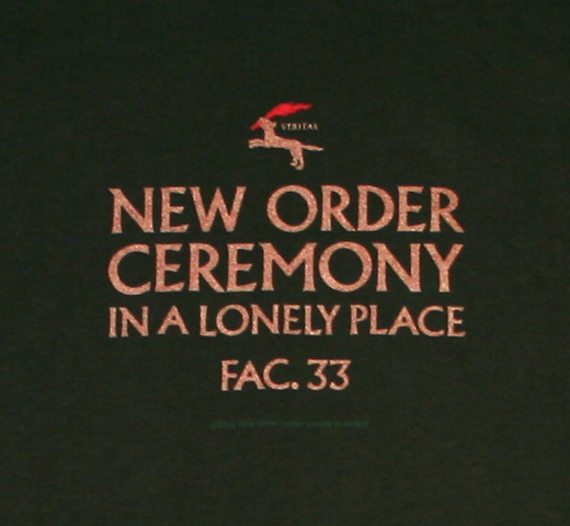 New Order / Ceremony Tee (Bottle Green)