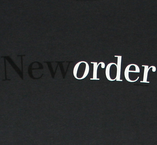 New Order / New Order Tee (Gray)