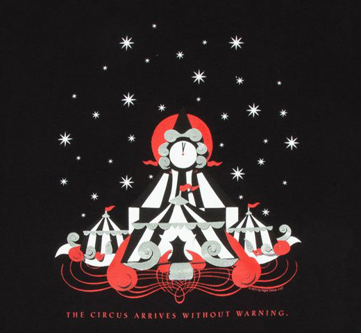 [Out of Print] Erin Morgenstern / The Night Circus Tee (Black)