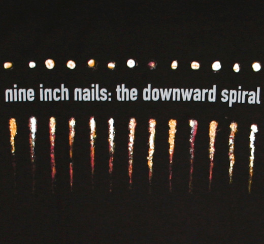 Nine Inch Nails / The Downward Spiral Tee (Black)